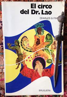 Portada del libro El circo del Dr. Lao, de Charles G. Finney