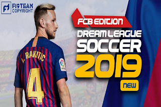 Download DLS 19 Mod FC Barcelona Apk Obb for Android