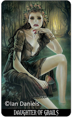Tarot of Vampyres Daughter of Grails Cups Ian Daniels blog blogger