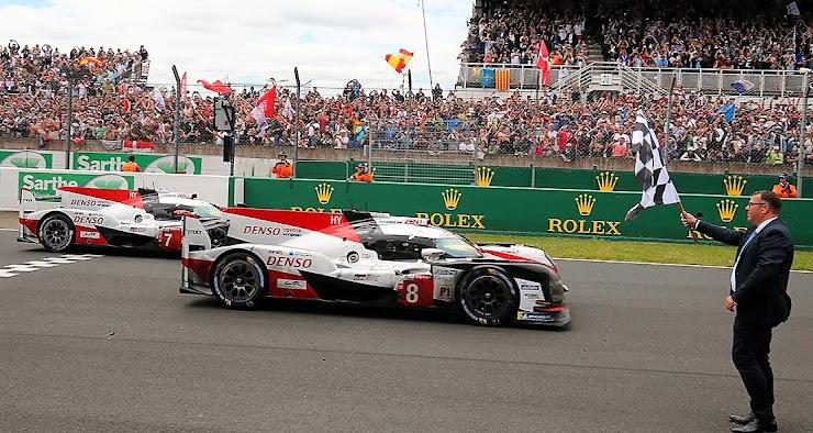 Toyotaがルマン24時間耐久レースに初めて勝った瞬間