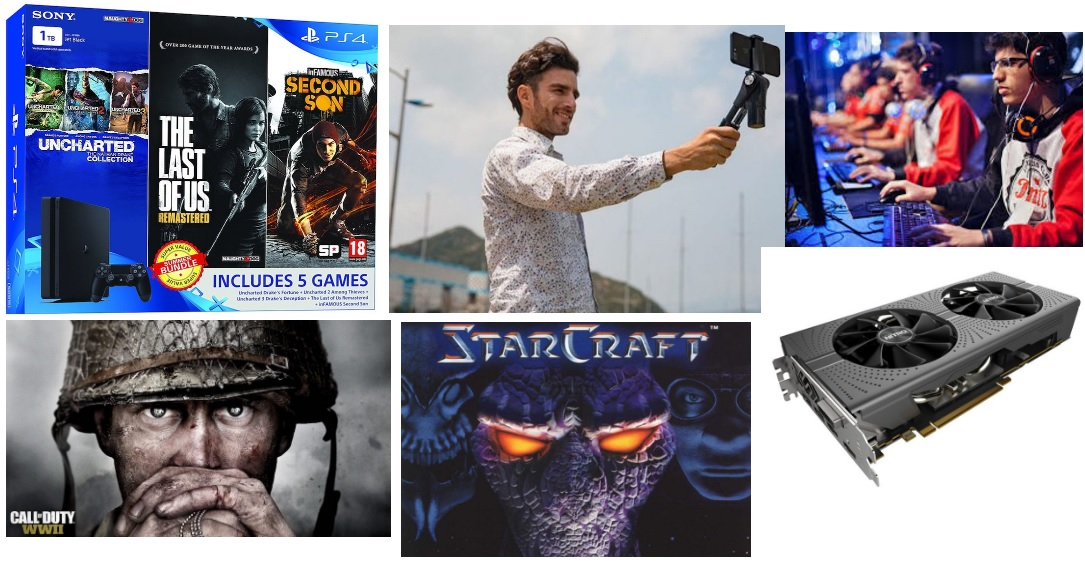 Game Talks: Starcraft: Brood War Free, PS4 Slim 1TB Bundle, 2022 Asian Games E-Sports, HTC Vive India Release, COD: WW 2 and More
