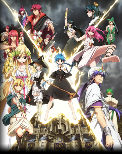 Magi: The Kingdom of Magic BD Subtitle Indonesia Batch