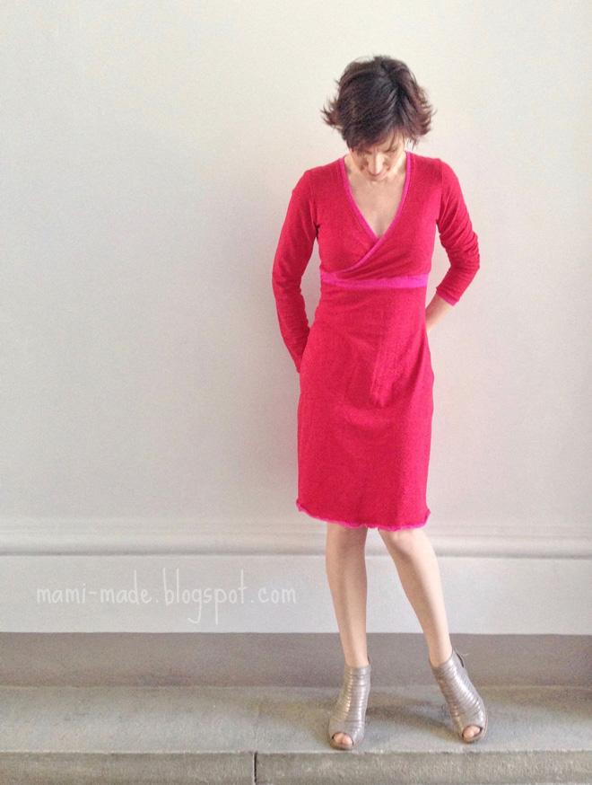 mamimade: Zweiter Versuch am Kleid und die Erkenntnis daraus