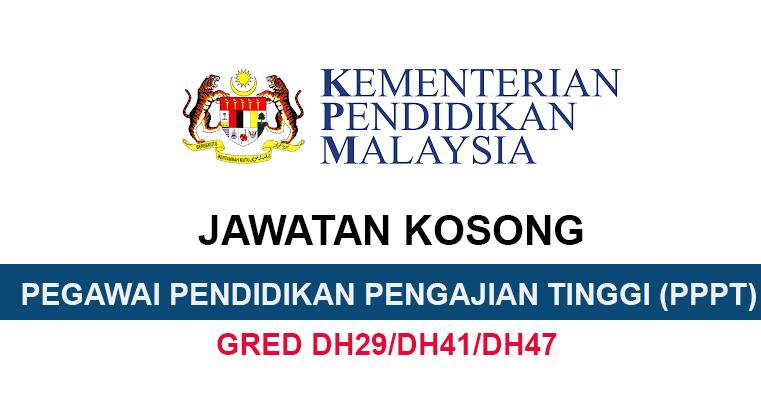 Kekosongan Jawatan Di Politeknik Dan Kolej Komuniti Kementerian Pendidikan Malaysia Pegawai Pendidikan Pengajian Tinggi Semakjawatan Com Jawatan Kosong Terkini