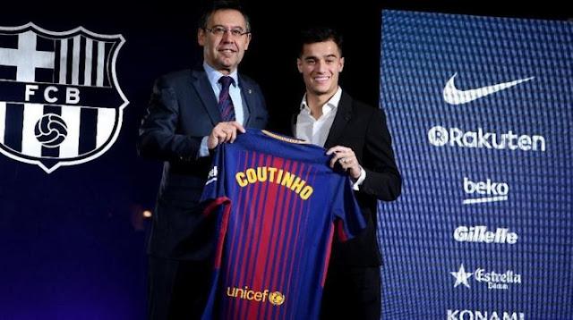 Coutinho Resmi Menjadi Pemain Barcelona