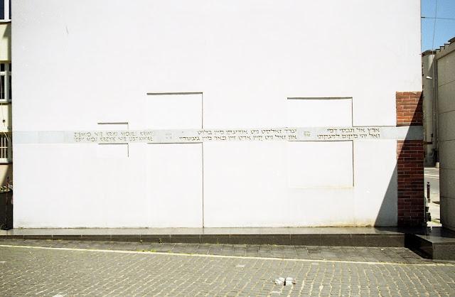Żydowskie pomniki na Muranowie