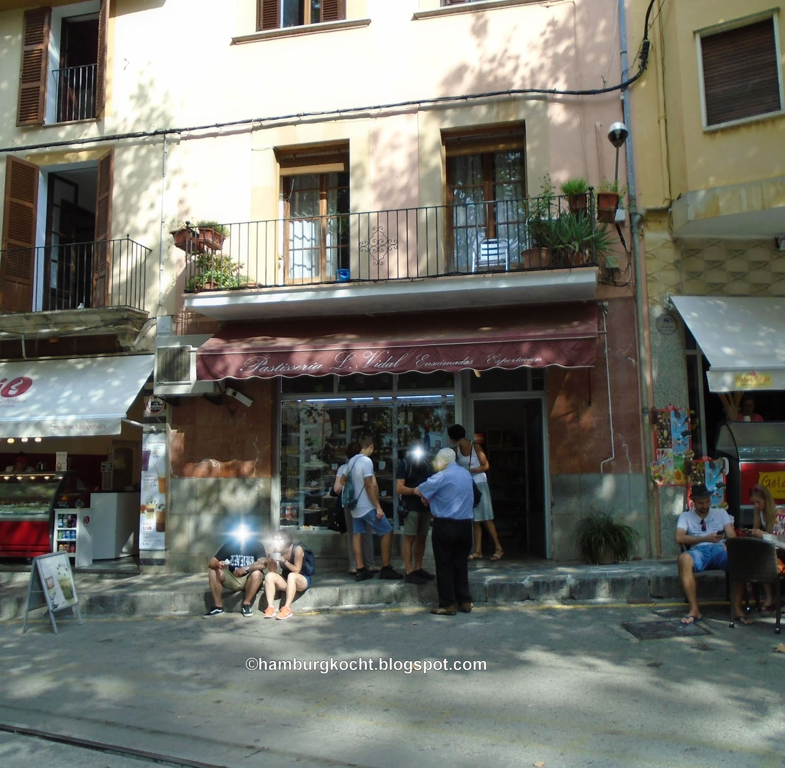 Hamburg kocht Patisseria L Vidal in S³ller Mallorca Spanien