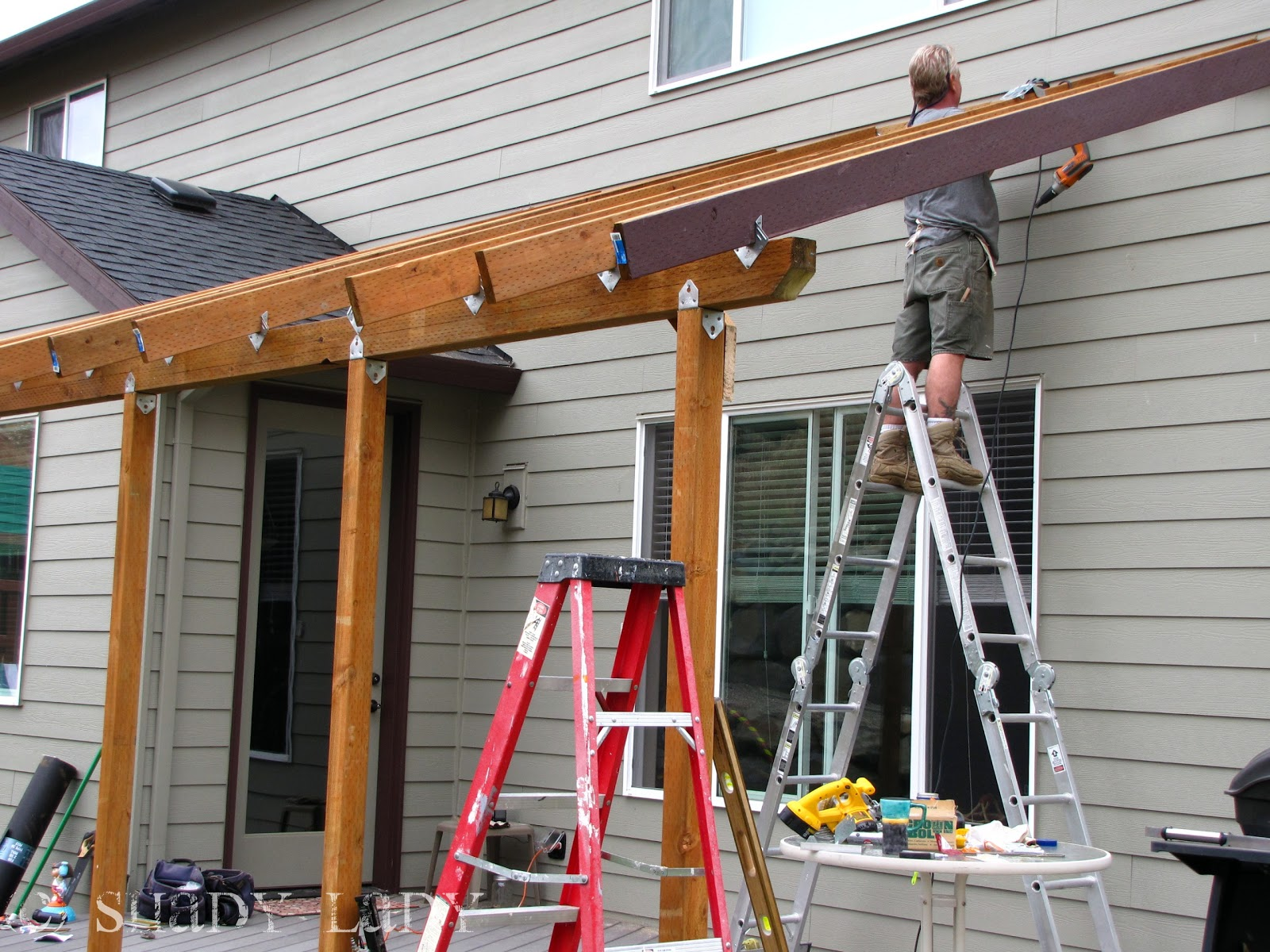 Putting A Roof Over A Deck Tcworks Org