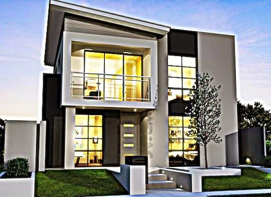 Desain Rumah 2 Lantai Cantik