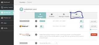 cara setting domain namecheap untuk blogspot