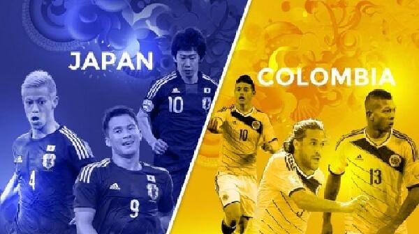 اليابان تخلق المفاجاة بالفوز على كولمبيا 1-0 في مباراة مثيرة