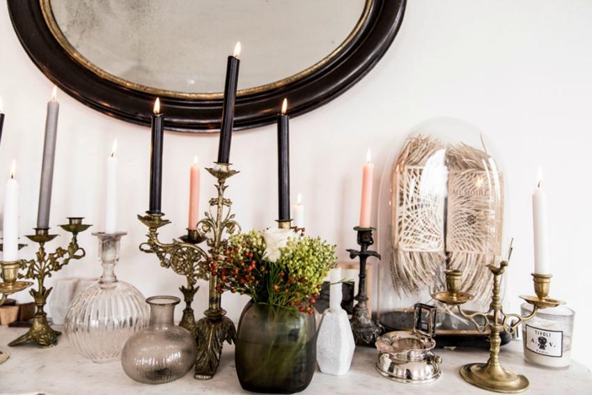 objetos decorativos apartmento parís