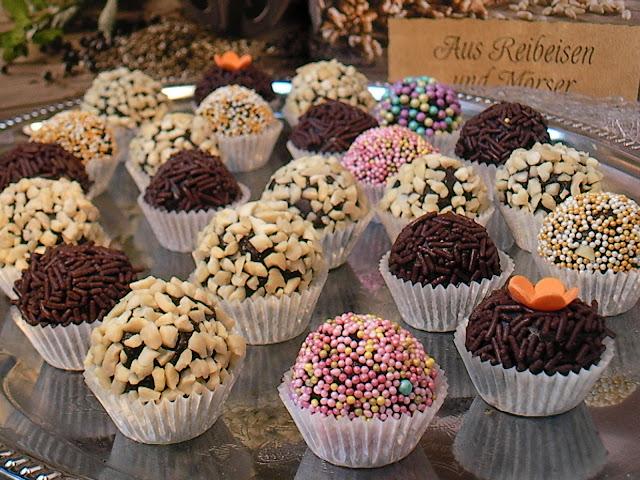 Brigadeiro - Бразилски шоколадови бонбони