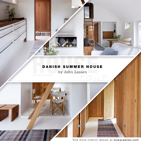 The summer house of John Lassen in Denmark. Photos by Lars Kaslov.