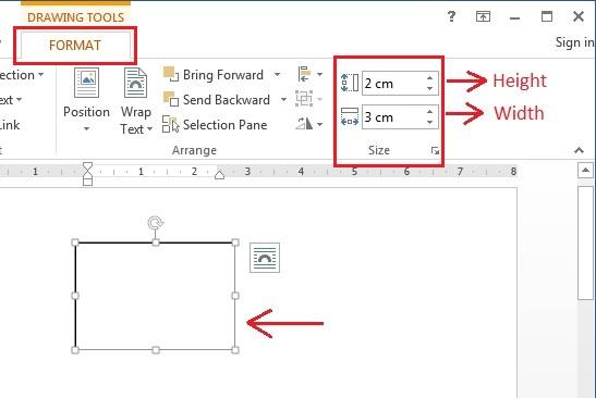 Cara membuat text box dengan ukuran tertentu di Microsoft Word ...