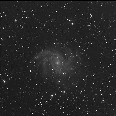 fading supernova in NGC 6946 with luminance filter