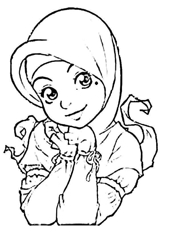 Ana Muslim Coloring Pages Coloring Pages For Familly And Kids
