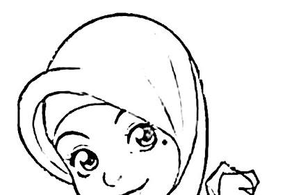 Semua Yang Terbaik Tentang Gambar Mewarnai Anime Muslim Catatanku