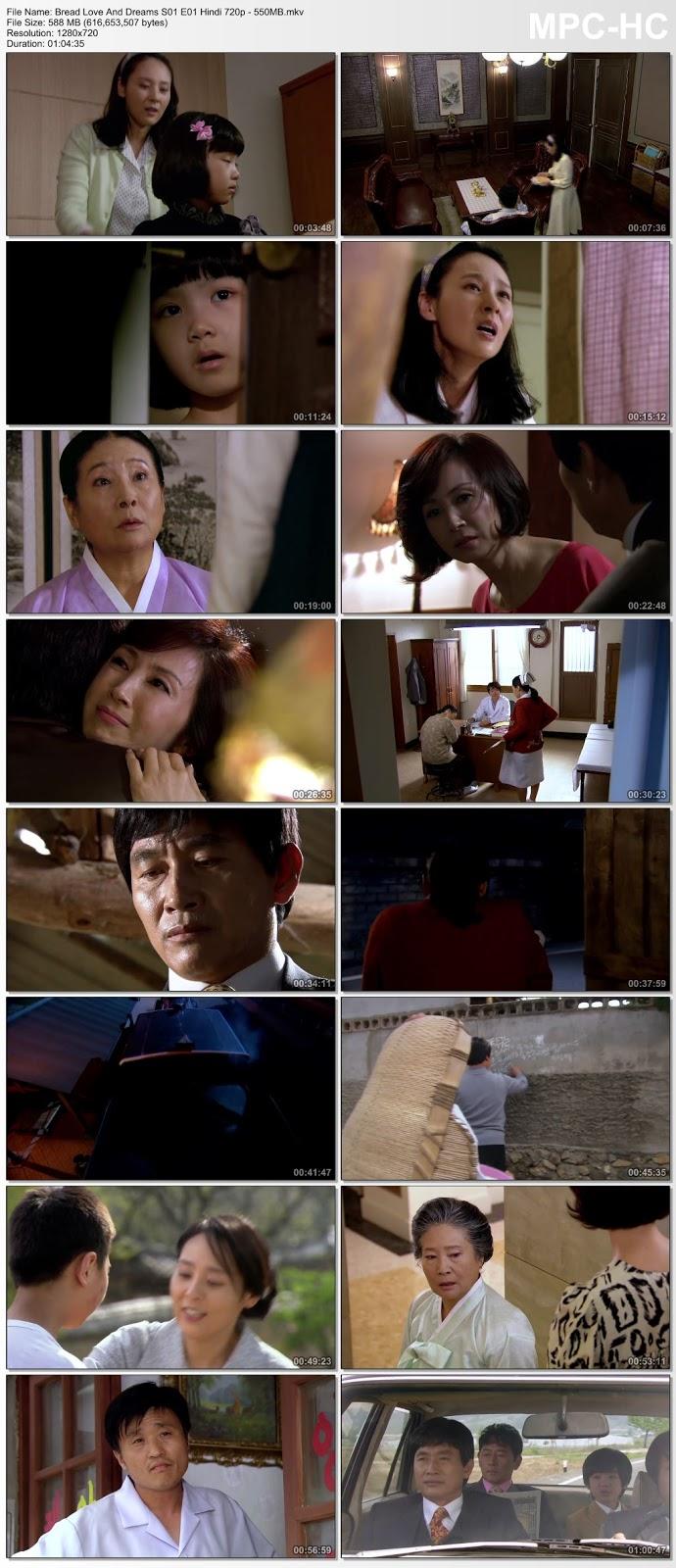 Screen Shoot of Bread Love And Dreams S01 [EP 01-03] Hindi Dubbed 720p HDRip