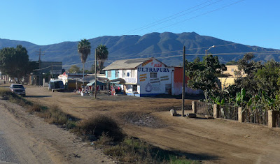 Heading south from Ensenada, Baja Mexico.