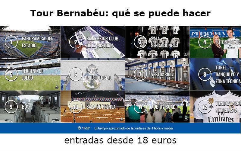 Tour Bernabeu: cómo visitar el estadio de Real Madrid