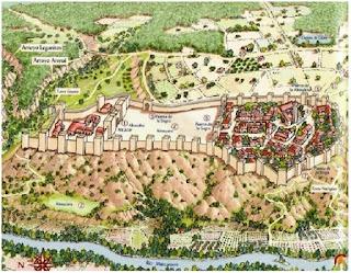 Peta Kota Madrid Abad Ke 9