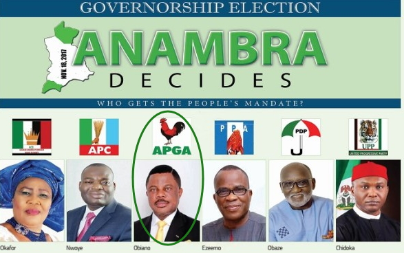 anambra governor election 2017 results