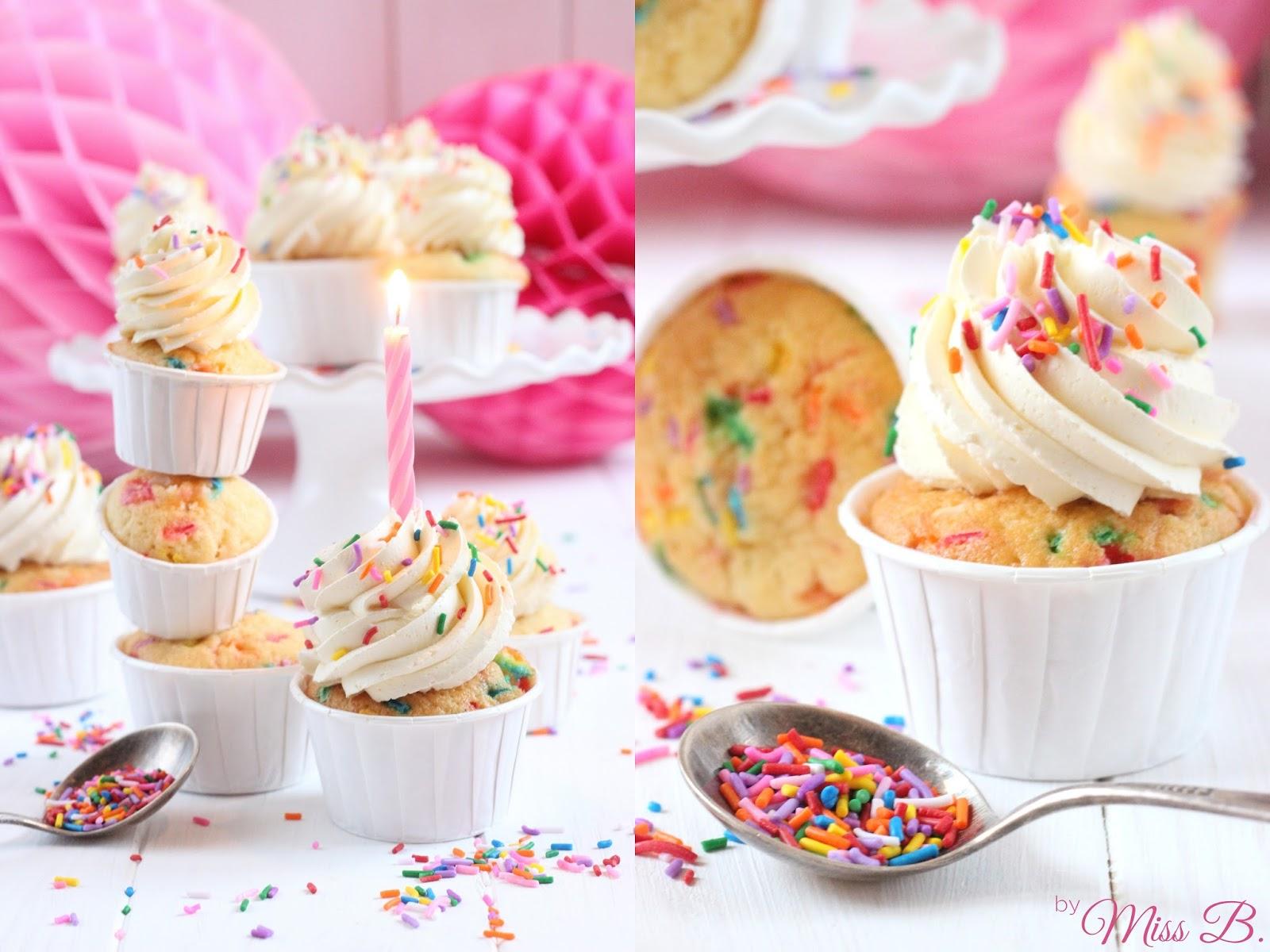 Miss Blueberrymuffin S Kitchen Zum Geburtstag Funfetti Birthday