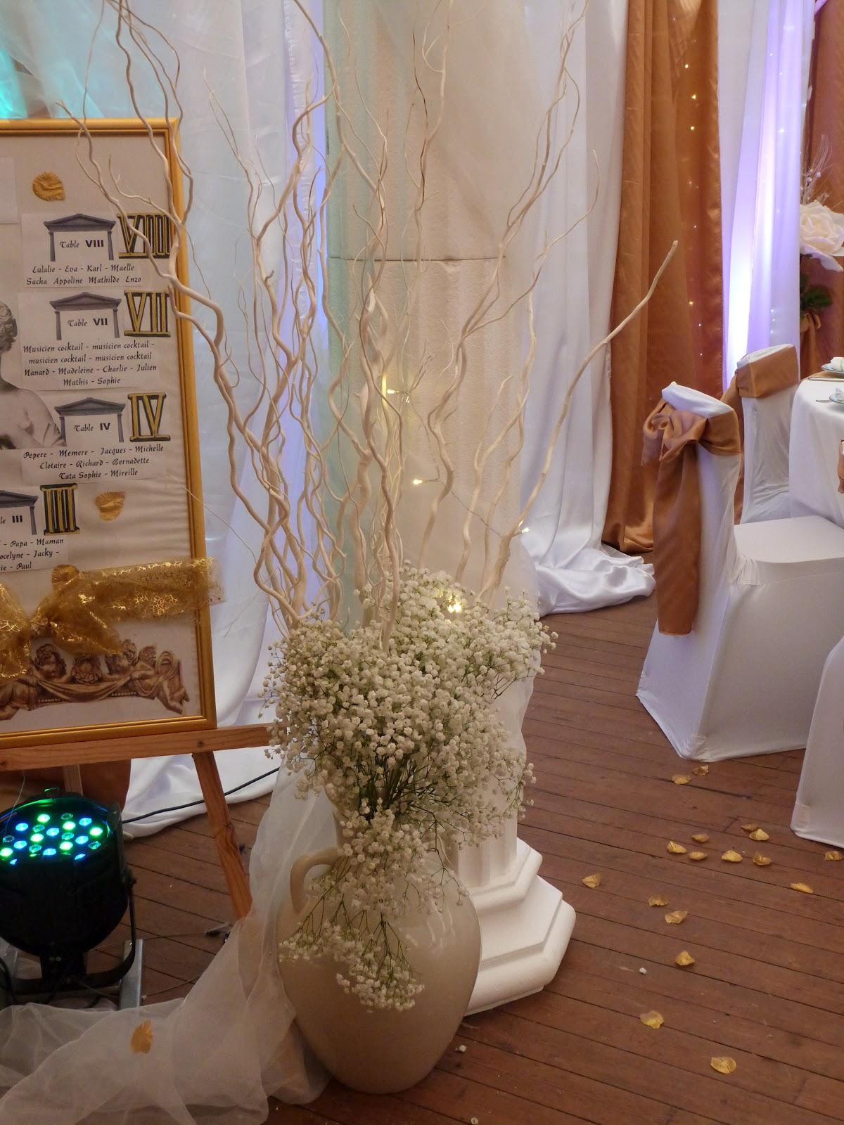 Decoration pour salle mariage fete reception photo decoration salles votre partenaire deco - Salle de l esprit et du temps ...