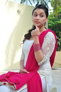 Actress Mannara Chopra Latest Pictures in White Salwar Kameez  0098