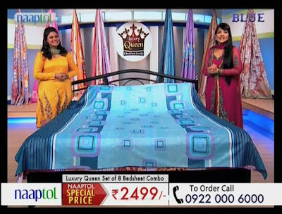 Naaptol Blue Hindi Shopping Channel added on DD Freedish