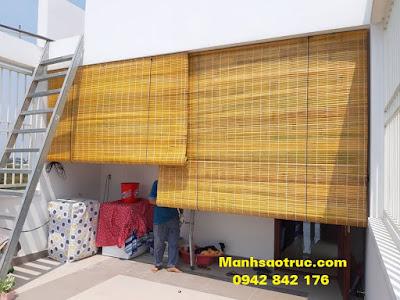 mành tre trúc chống nắng che mưa