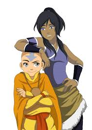 Aang y Korra Anime que no es anime
