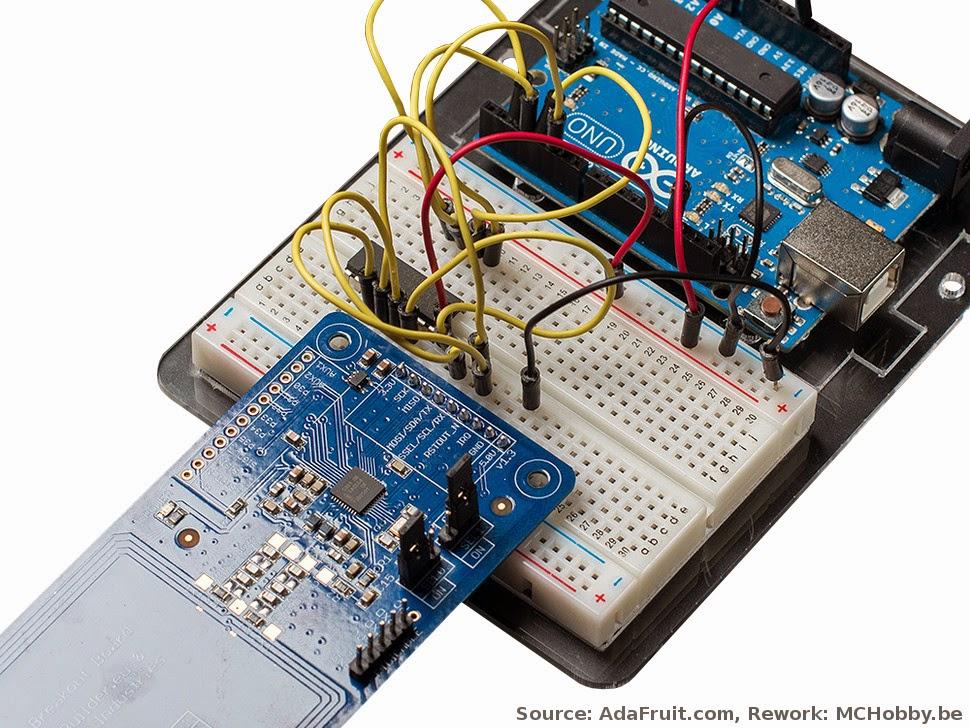 Raspberry Pi - NFC et carte RFID facilement accessible grâce
