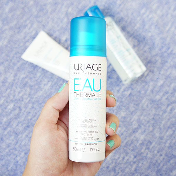 URIAGE Thermal Water Review, URIAGE Thermal Water, URIAGE Cleansing Cream, URIAGE Thermal Water Spray, Micellar Water,