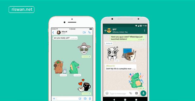 WhatsApp Hadirkan Fitur Sticker Bagi Semua Pengguna