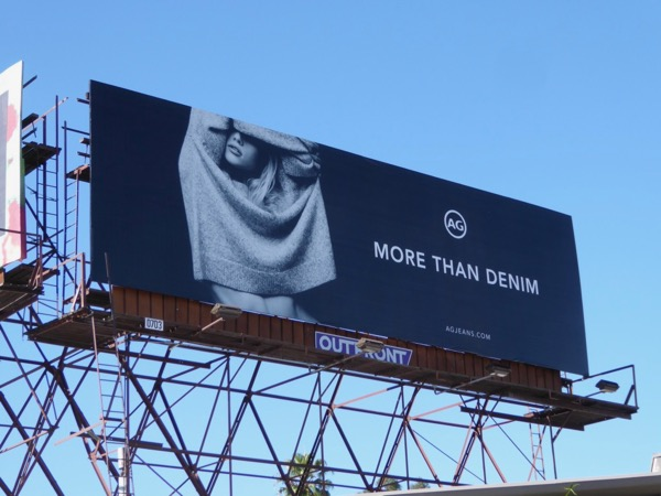AG Jeans More than denim billboard