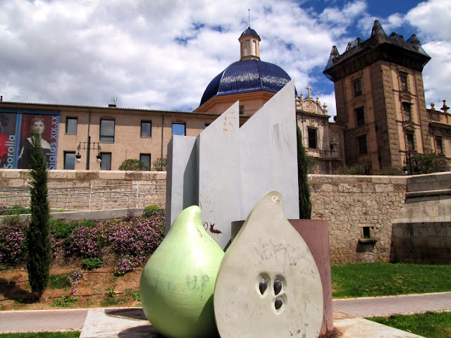 Jardín del Turia, desde San Pío V hasta el Puente del Real, abril 2014 - Paseos Fotográficos