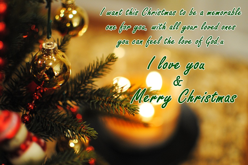 Christmas Love Wishes for Her & Him