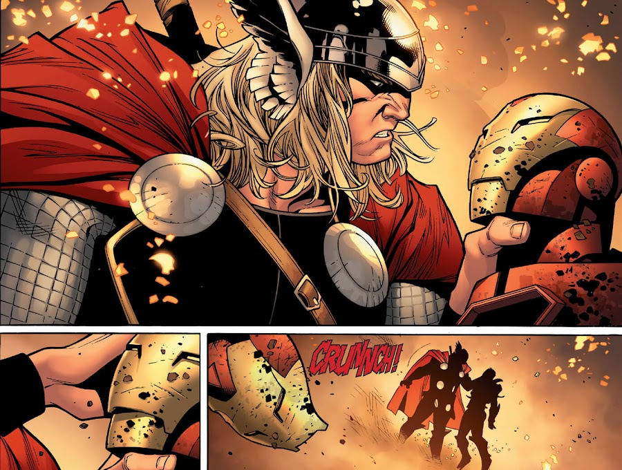 iron man vs thor comic