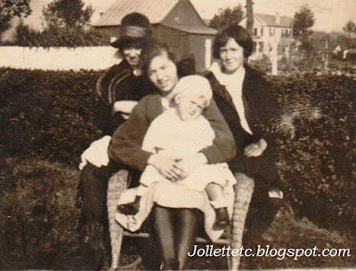 Julia Walsh, Helen Killeen, Mae Holland and John Holland  https://jollettetc.blogspot.com