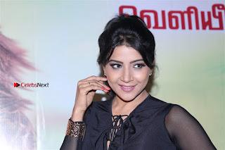 Actress Sakshi Agarwal Stills in Floral Short Skirt at Jaikira Kuthira Audio Launch  0006.jpg