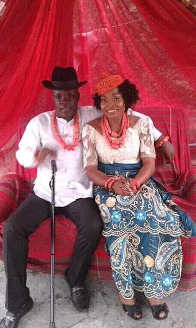 Two serving corps members share photos from their wedding ceremony