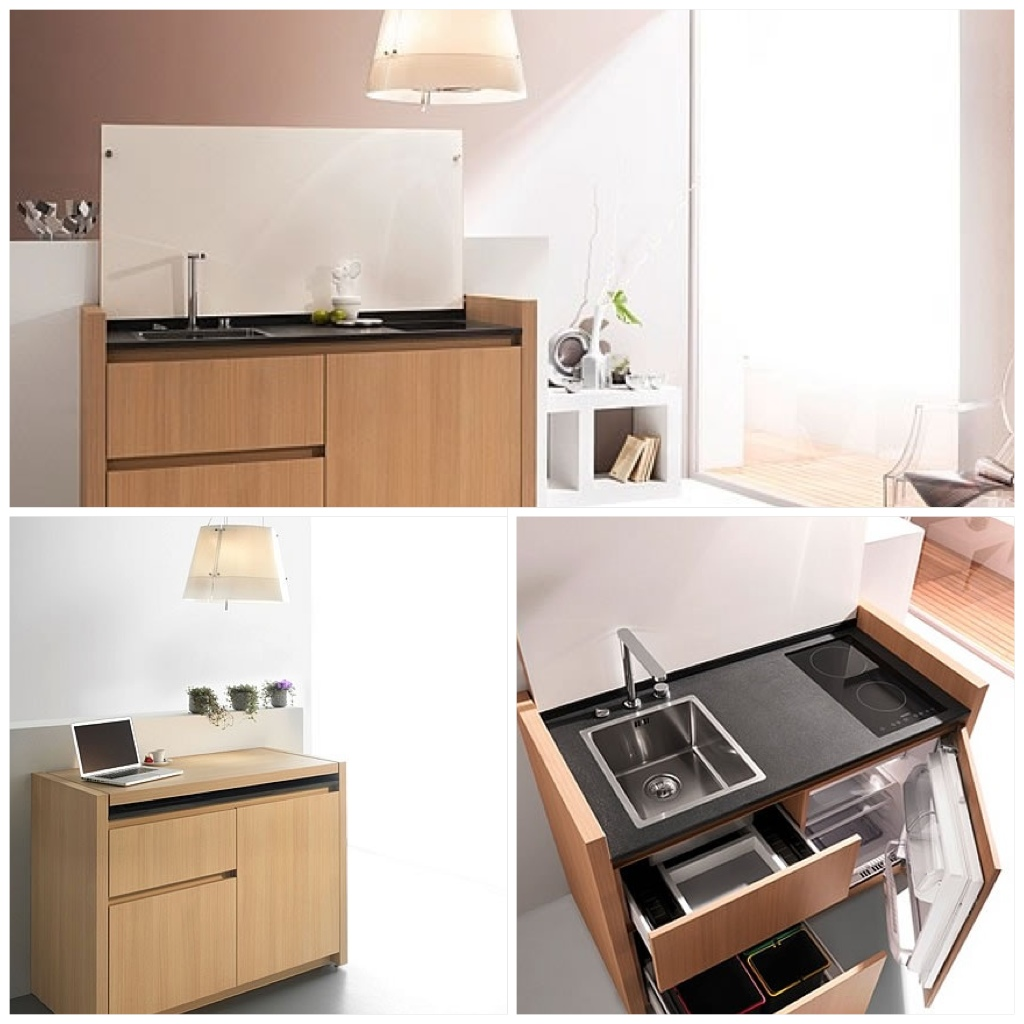 Micro Kitchen Design: 9 Hundred Square Feet: Micro Kitchens & Baths