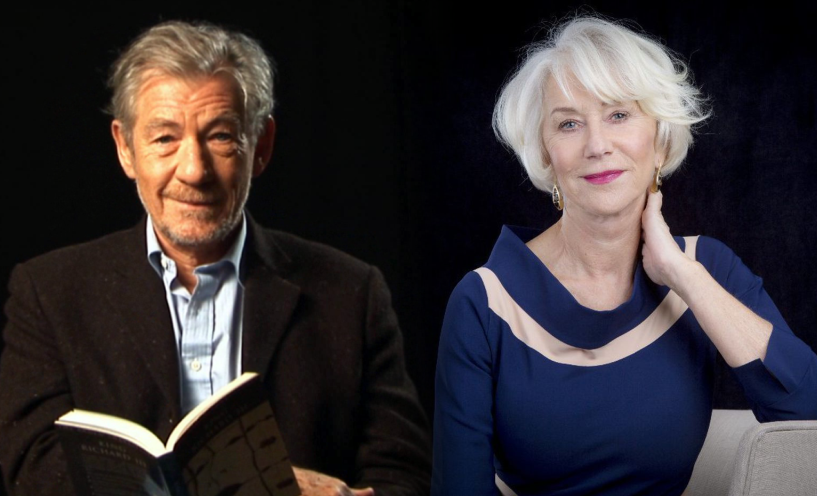 "Começam as filmagens de ""The Good Liar"", com Helen Mirren e Ian McKellen"