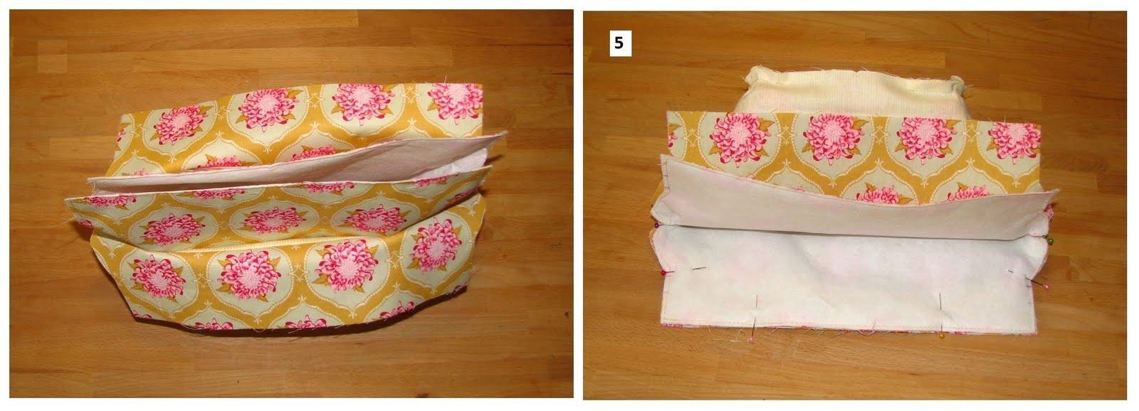 A bélésen hagyott 10 cm-es nyíláson fordítsuk a színére a táskát és szépen  vasaljuk meg mindenhol e62afc541c
