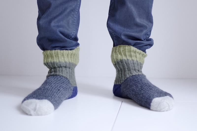 5 vinkkiä aloittelevalle neulojalle / villasukka vinkki perussukka