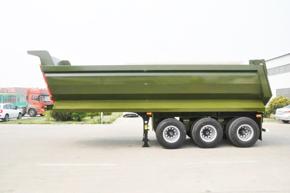 Semi Trailers For Sale In Germany Network Diagram Software Mac China Fudeng Trailer Manufacturer 18cbm Capacity Dual Axles Cheap Rear End Tipper Pakistan