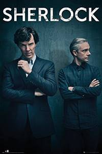 sherlock best tv series poster hollywood