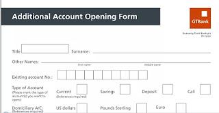 Guide To Open GTBank Domiciliary Account